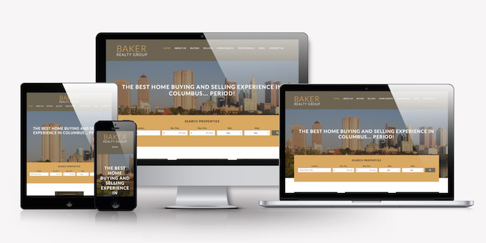 Baker Realty Group Responsive Devices