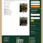 Emerald Green Pros Contact Screenshot