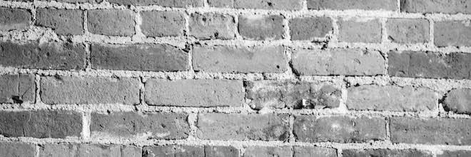 Brick-and-Mortar Wall